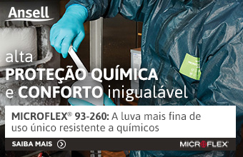 Ansell - Luva Microflex para proteção química