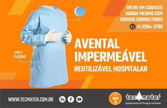 TecMater - Avental Impermeável Hospitalar